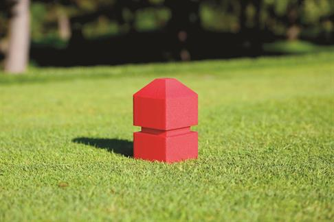 Stacked Tee Marker